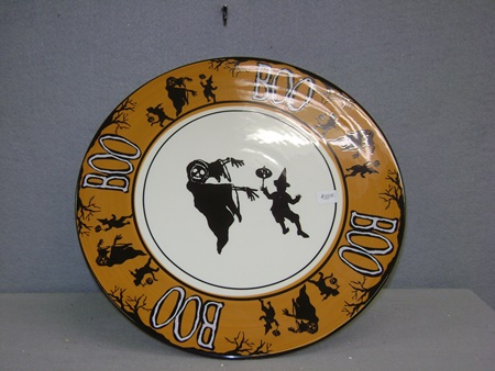 BL-LC5488 Boo Cake Plate