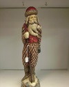 BL-CC2489 Pinecone Santa with Staff