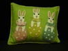 BL-RL3604 Bunnies in Eggs Pillow