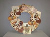 BL-RL6843 Thanksgiving Dummy Board Wreath