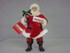 KA-CC5172 Santa with Coke Bottle & Stocking