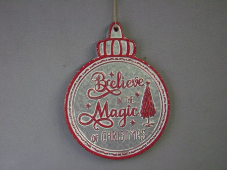 LM-QC70780 Signs of the Season/ Believe Sign