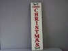 LM-QC70878 Merry Christmas Holly Sign