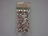 RH-10111 Large Silver & Green Bead Garland